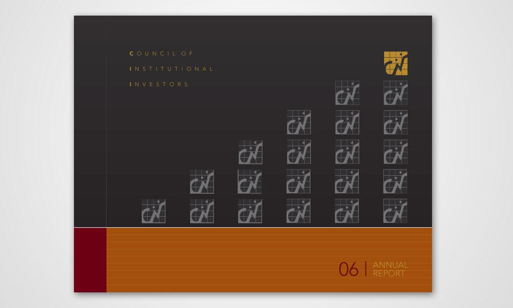 Ctvrtnik Design - CII Annual Report Cover