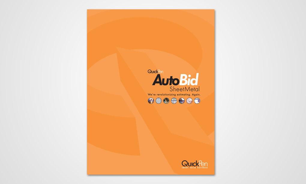 QuickPen - AutoBid SheetMetal Brochure