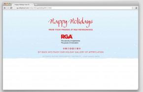 RGA Reinsurance - 2011 Holiday Ecard