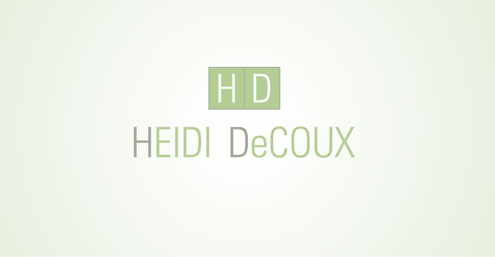 Heidi DeCoux Logo