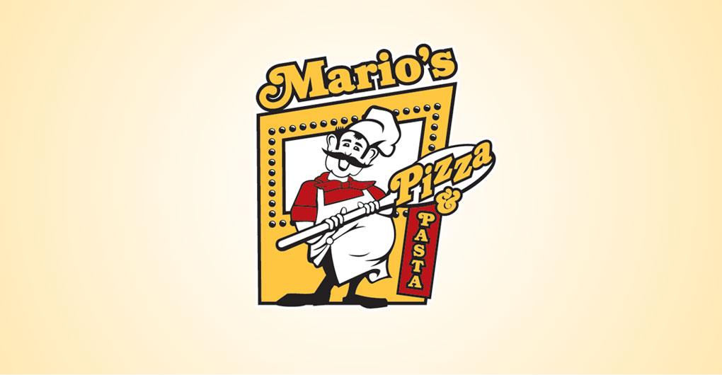 Mario's Pizza and Pasta - Logo