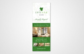 Ivy Spa Club - Skyway Sign