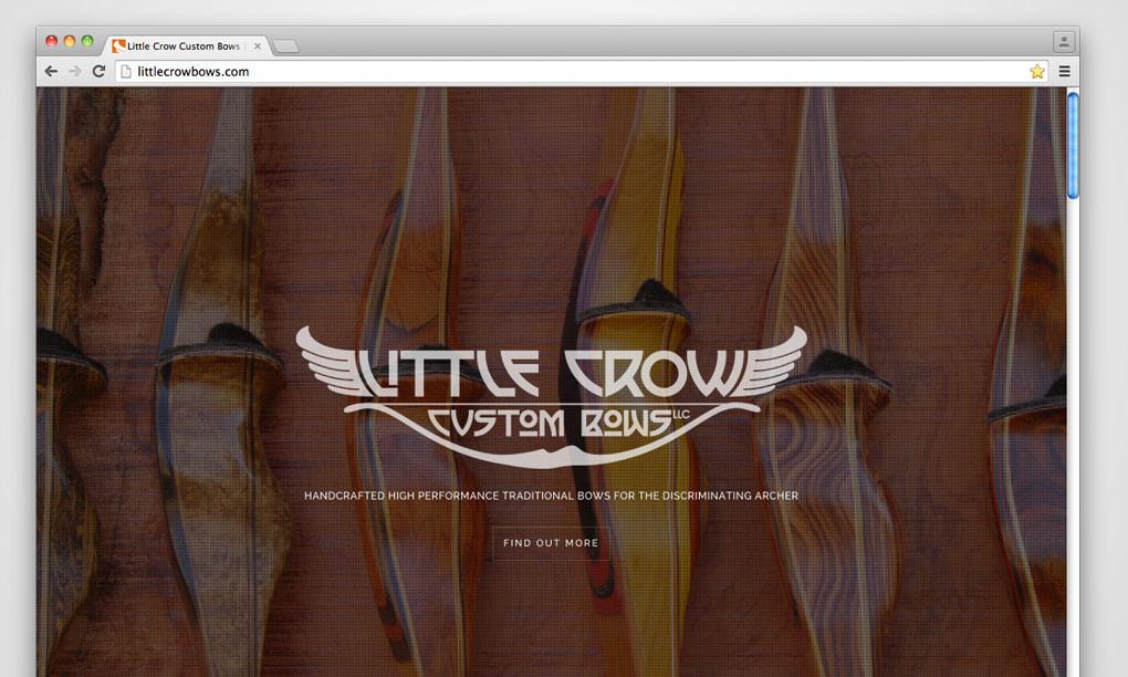 Little Crow Custom Bows - Website