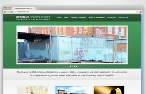 Revitalize Council Bluffs - Website
