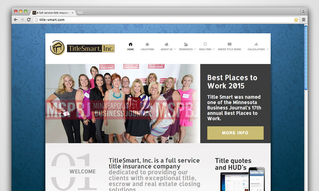 TitleSmart, Inc. - Website