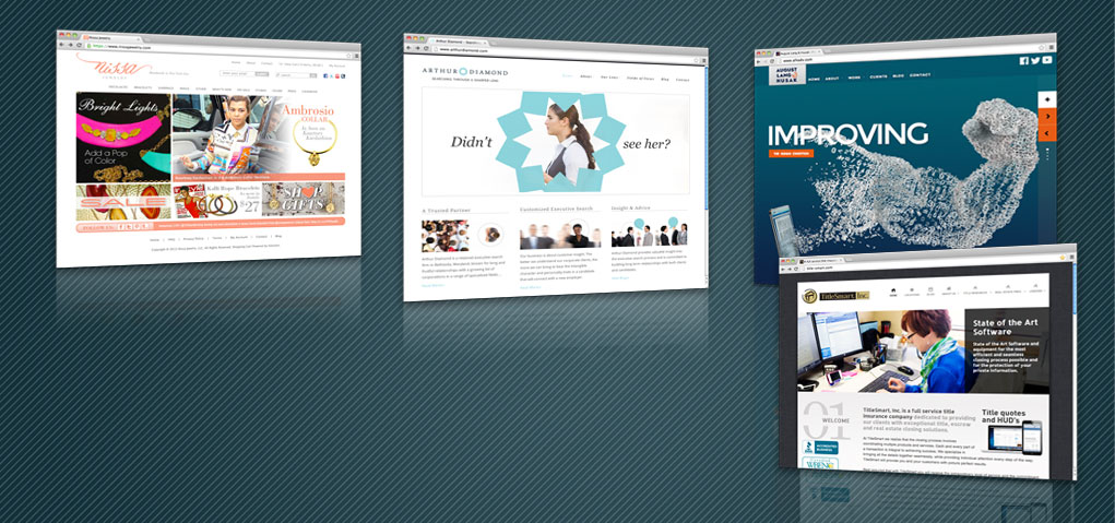Websites that meet your needs and your budget.