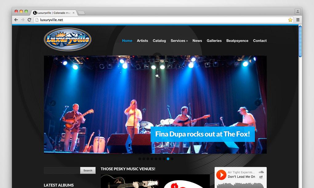Luxuryville - Website