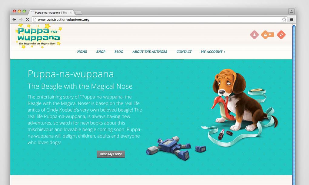 Puppa Books - Website