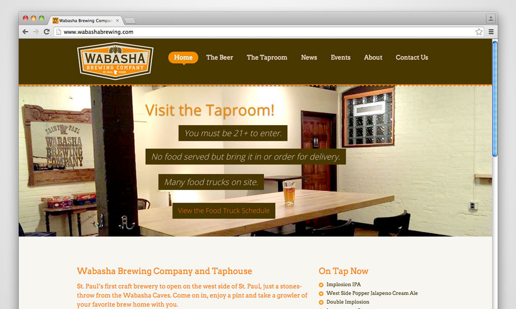Wabasha Brewing Company - Website