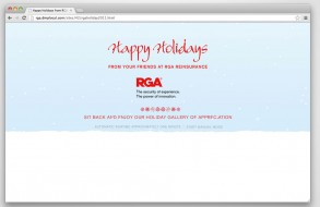 RGA Reinsurance - 2011 Holiday Ecard