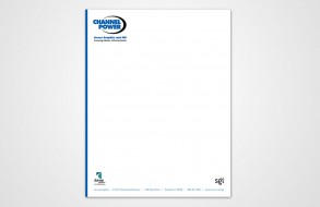 Channel Power Access Graphics - Letterhead