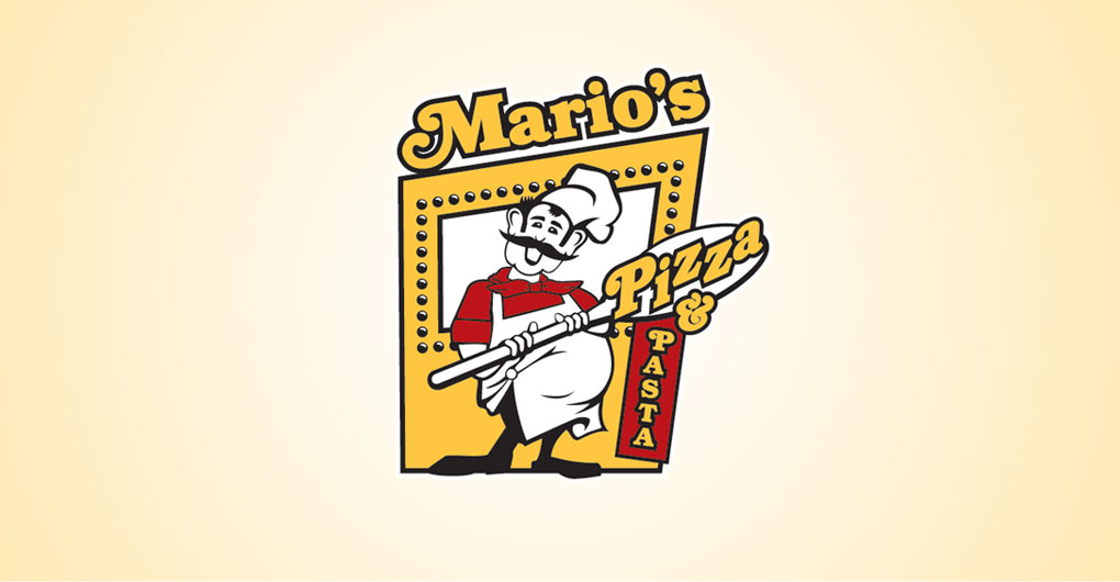 Mario's Pizza and Pasta - Logo