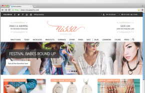 Nissa Jewelry - Website
